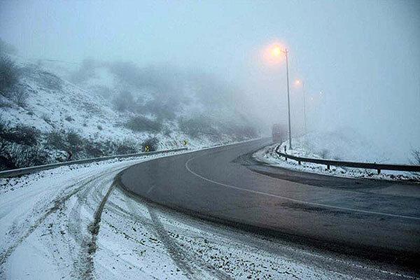 برف جاده