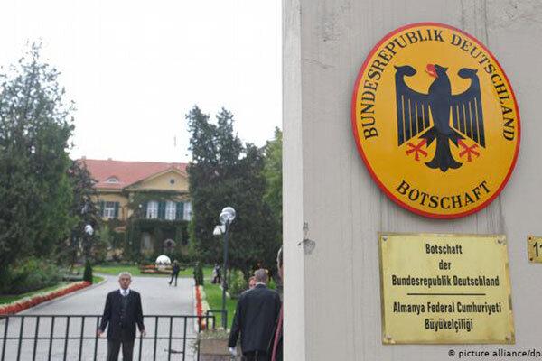 سفارت آلمان تركيه