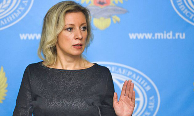 ماريا زاخارووا سخنگوي وزارت خارجه روسيه
