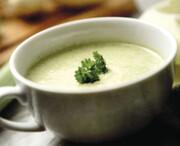 سوپ ترهفرنگی و سیبزمینی