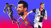 صد ستاره برتر فوتبال جهان در سال ۲۰۱۹