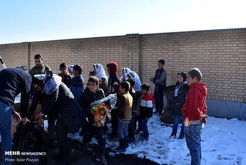 وضعیت مناطق زلزله زده شهرستان میانه
