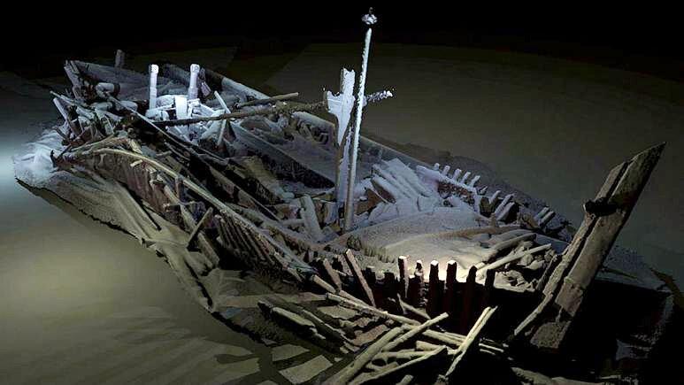قدیمیترین کشتی غرق شده جهان، دست نخورده پیدا شد