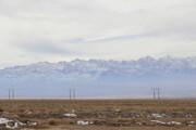 نخستین بارش برف در ارتفاعات سیرچ کرمان