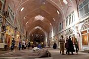 سایه آتش برسر بازار بزرگ تبریز