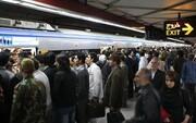 آمار عجیب مسافران مترو تهران در روزهای کرونایی ۹۹ |ساعات پیک مسافر