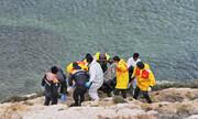 مرگ احتمالی ۲۰ نفر در واژگون شدن قایق پناهجویان در ایتالیا
