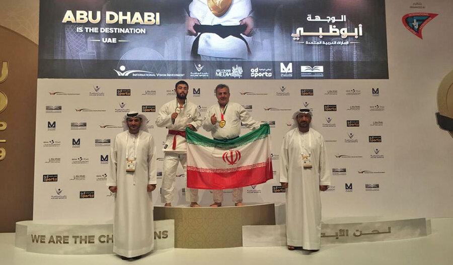 یک طلا و یک نقره برای جوجیتسوکاران ایران در مسابقات جهانی