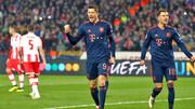 لیگ قهرمانان اروپا؛ ادامه صدرنشینی بایرن با ۴ گل لواندوفسکی