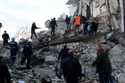 افزایش تلفات زلزله آلبانی به ۲۳ کشته