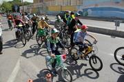 همایش بزرگ دوچرخه سواری در منطقه ۱۱