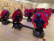 نمایشگاه لندن | هشتدقیقه بازدید مجازی از مقبره «توت عنخ آمون»