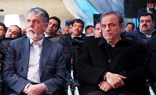 رزم حسینی و وزیر ارشاد