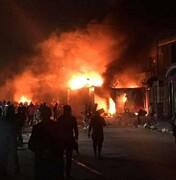 آتشسوزی مجدد در محل کنسولگری ایران در نجف