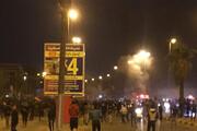 پخش مستقیم حمله به کنسولگری ایران در نجف | ۴۷ نیروی امنیتی زخمی شدند