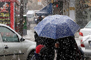 هشدار هواشناسی درباره تشدید بارشها و کولاک برف
