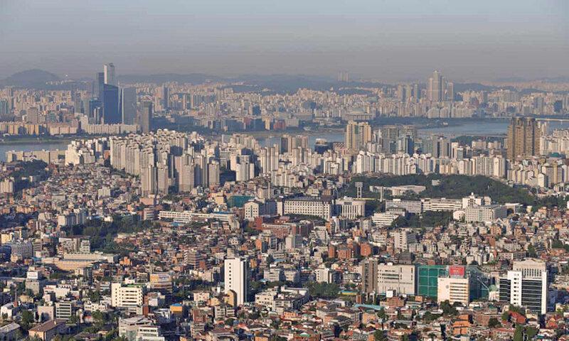ساخت گنبد آهنین بر فراز آسمان کره جنوبی