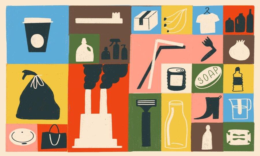 سبک زندگی - محیط زیست - مصرف - پلاستیک