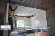 تعمیر بیش از هزار واحد مسکونی سیلزده پایان یافت