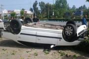 سرعت غیرمجاز جان سرنشین خودرو را گرفت