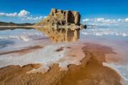 آب دریاچه ارومیه یکساله ۳ برابر شد