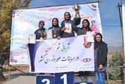 تهران قهرمان تیمی دو صحرانوردی بانوان و پریسا عرب قهرمان انفرادی شد