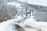 بارش برف در برخی مناطق آذربایجان شرقی