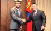 سعید ملایی تبعه مغولستان شد | دیدار با رئیسجمهور مغولستان