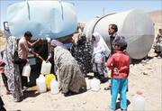 توزیع روزانه ۱۵۰ مترمکعب آب شرب بین روستاییان اردستان