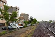 پاکسازی اطراف خط آهن از معتادان