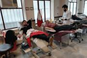 در فصل سرما بیشتر خون اهدا کنید