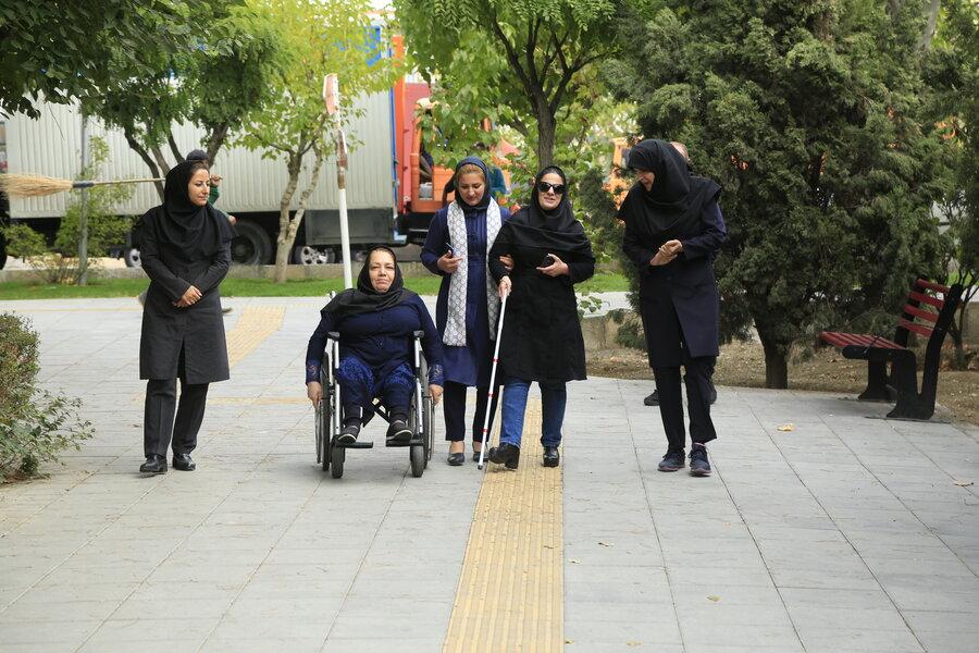مناسب سازی بوستان معلولان