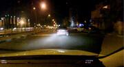 تصاویر تعقیب و گریز در بزرگراه امام علی | شلیک ۶ تیر و دستگیری سارق