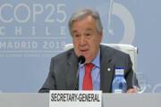 دبیرکل سازمان ملل: اعتیاد به زغال سنگ و نفت را ترک کنیم