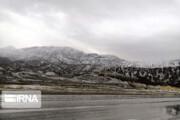 نخستین برف پاییزی در ارتفاعات ایلام