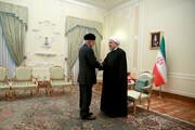 روحانی به بنعلوی: مشکلی برای توسعه روابط با عربستان نداریم