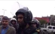 ویدئوی اظهارات یک فرمانده یگان ویژه در اعتراضات بنزینی | تا جایی که راه دارد نزنیم ؛ اینها دشمن ما نیستند