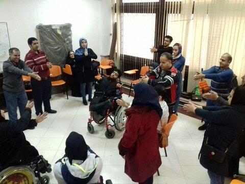 گردهمایی و ورزش معلولان