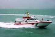 پنج سرنشین لنج باری غرق شده در آبهای بوشهر نجات یافتند