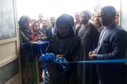 افتتاح سالن ورزشی شادروان ناصر حجازی در ایوان