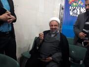 پیام تصویری رسایی برای روحانی هنگام ثبتنام در انتخابات