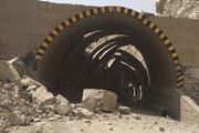 نجات ۱۰ کارگر گرفتار شده در تونل زره