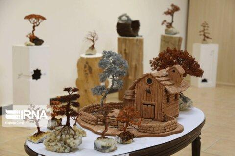 نمایشگاه آثار سیمی