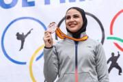 افزایش شانس حضور بانوی کاراته کا گیلانی در المپیک