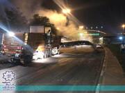 آسفالتریزی ۶هزارتن در ورودی شهر تبریز به سمت راه آهن