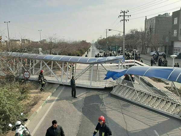 سقوط پل مشهد