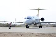 افتتاح خط هوایی پرواز جاسک - تهران با حضور استاندار هرمزگان