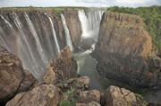 بدترین خشکسالی قرن در آفریقا | آبشار ویکتوریا خشکید