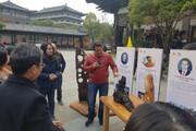 حضور هنرمند کرمانشاهی در تورنمنت جهانی چوب