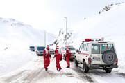 بارش برف جاده ارتباطی خوزستان و چهارمحال را مسدود کرد